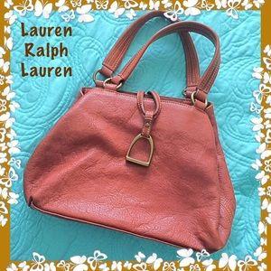 Lauren Ralph Lauren Brown Leather Bag